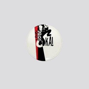 Dance Ska Mini Button